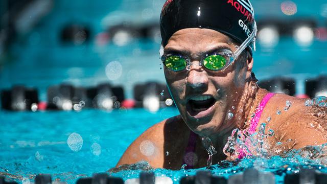 Mike Lewis Oregon Summer Nationals Swimmer surprise breastroke