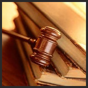 legal - gavel and books