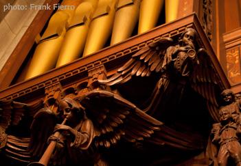 Organ, photo by Frank Fierro