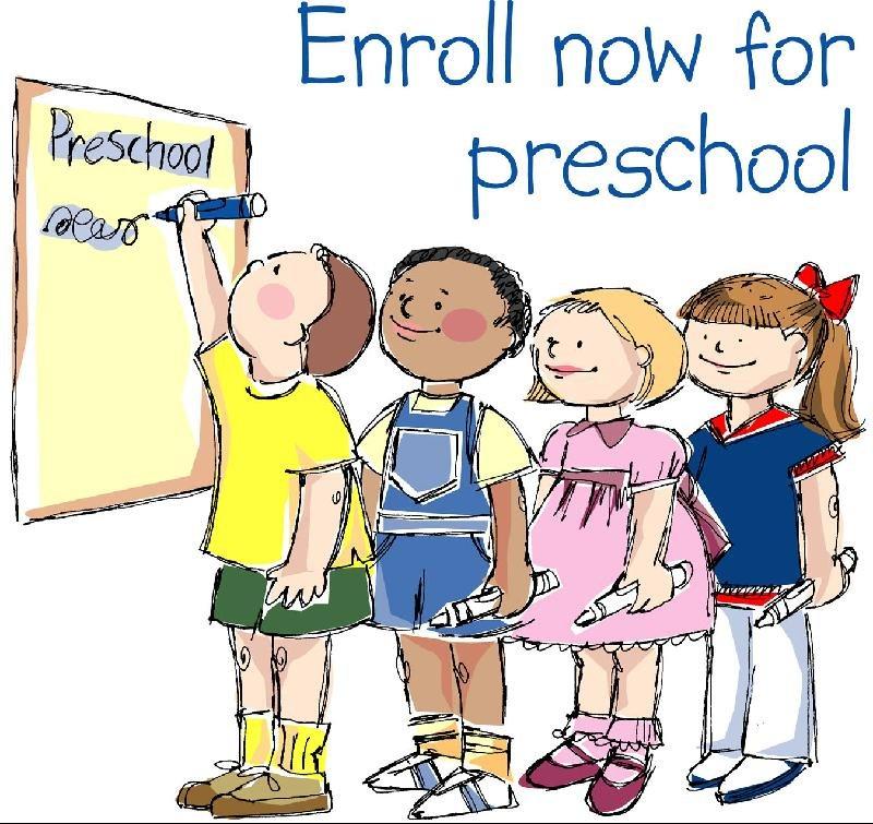 Enroll for Preschool