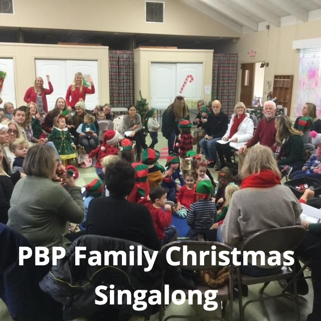 PCP Christmas Singalong