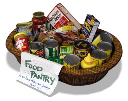 Food Pantry Basket