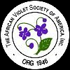Logo of the African Violet Society of America
