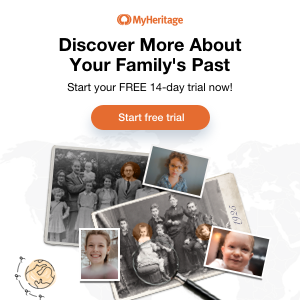 Visit MyHeritage Today
