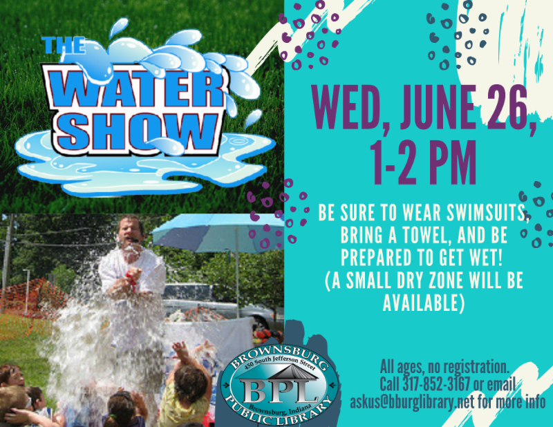 water show wednesday june 26 1 pm
