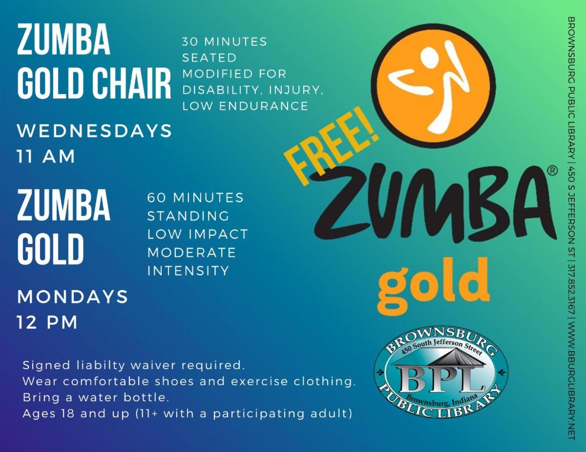 zumba gold mondays 12 pm zumba gold chair wednesdays 11 am