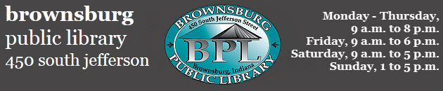 Brownsburg Public Library Logo