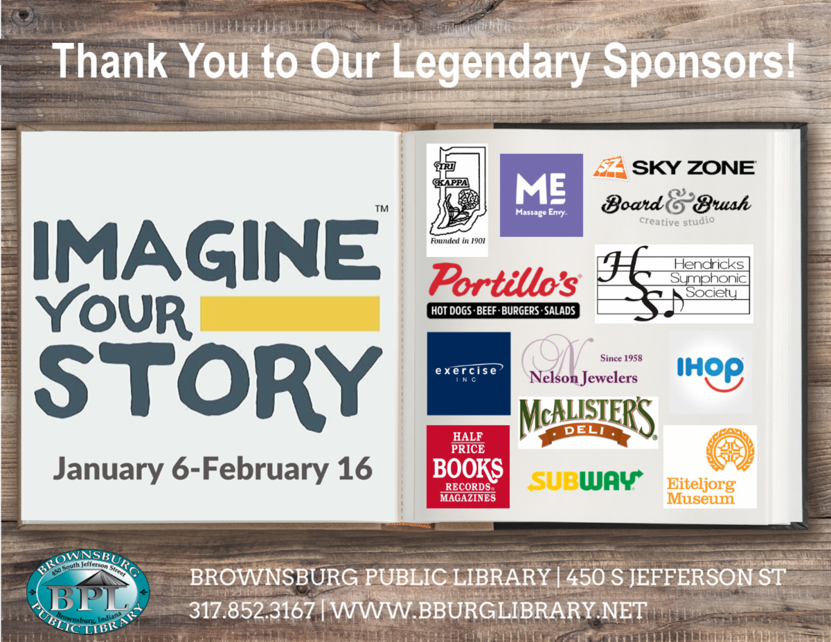 thank you to our legendary sponsors for adult winter reading