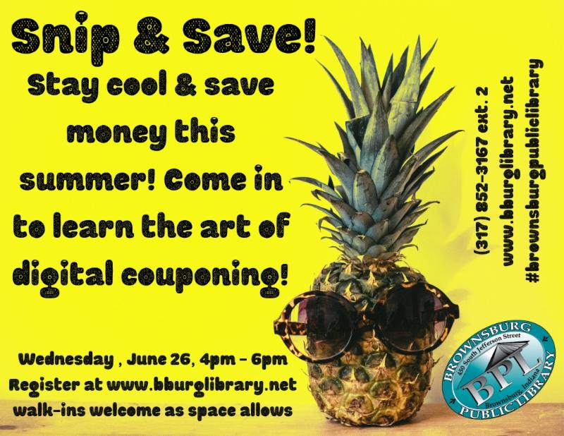 snip and save wednesday june 26 4 pm