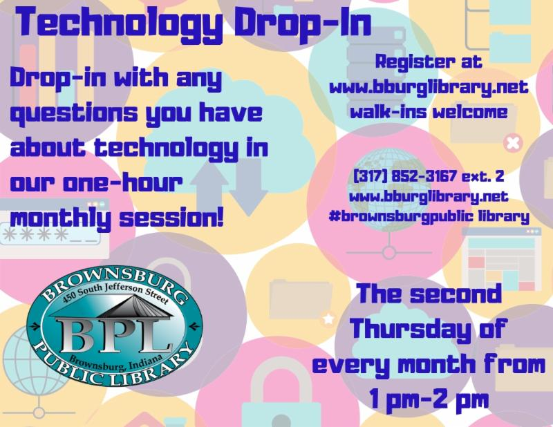 technology drop in thursday may 9 1 pm