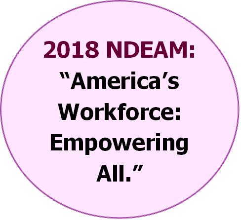 2018 NDEAM America's Workforce Empowering All