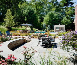 outdoorliving, Planting, Wall, Patio, Pool