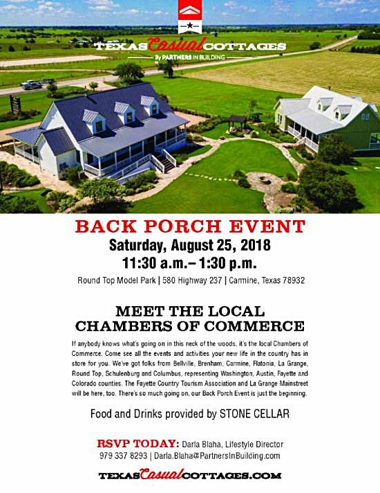 Local Entertainment/Events/Info  08/15/2018
