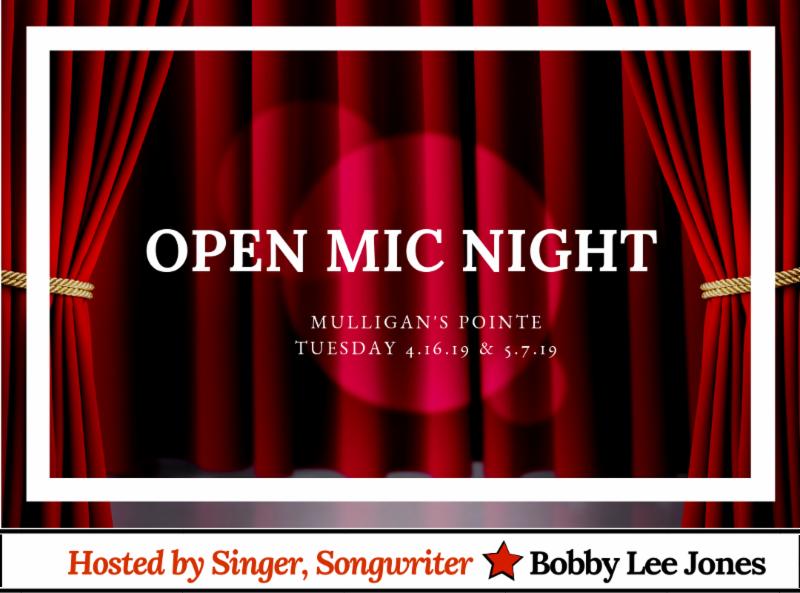 Mulligan's Pointe Open Mic Night