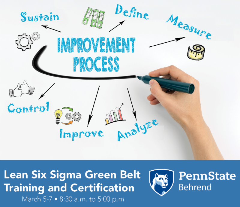 Register Today For Lean Six Sigma Green Belt Training