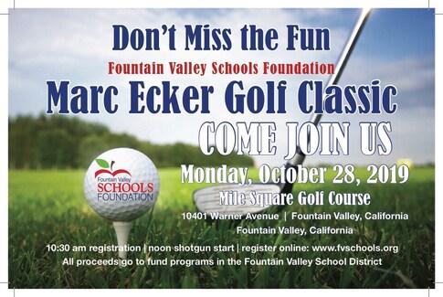 Marc Ecker Golf Classic 2019