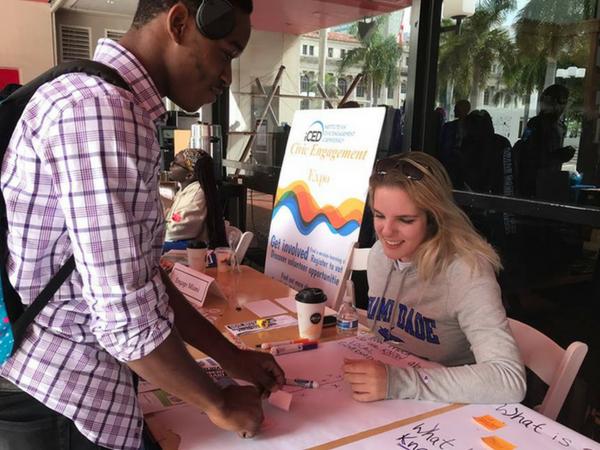 Engage Miami registering voters