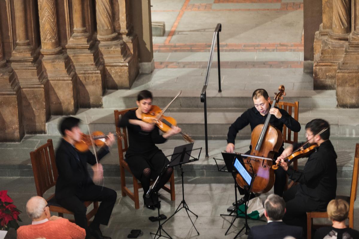 Parker Quartet at Adolphus Busch Hall
