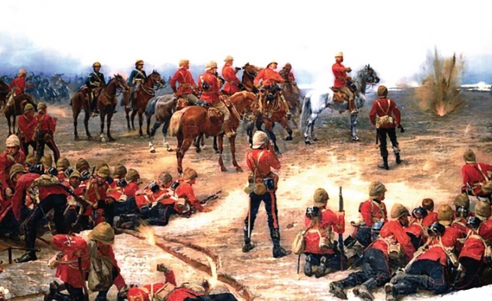 British Soldiers in Battle