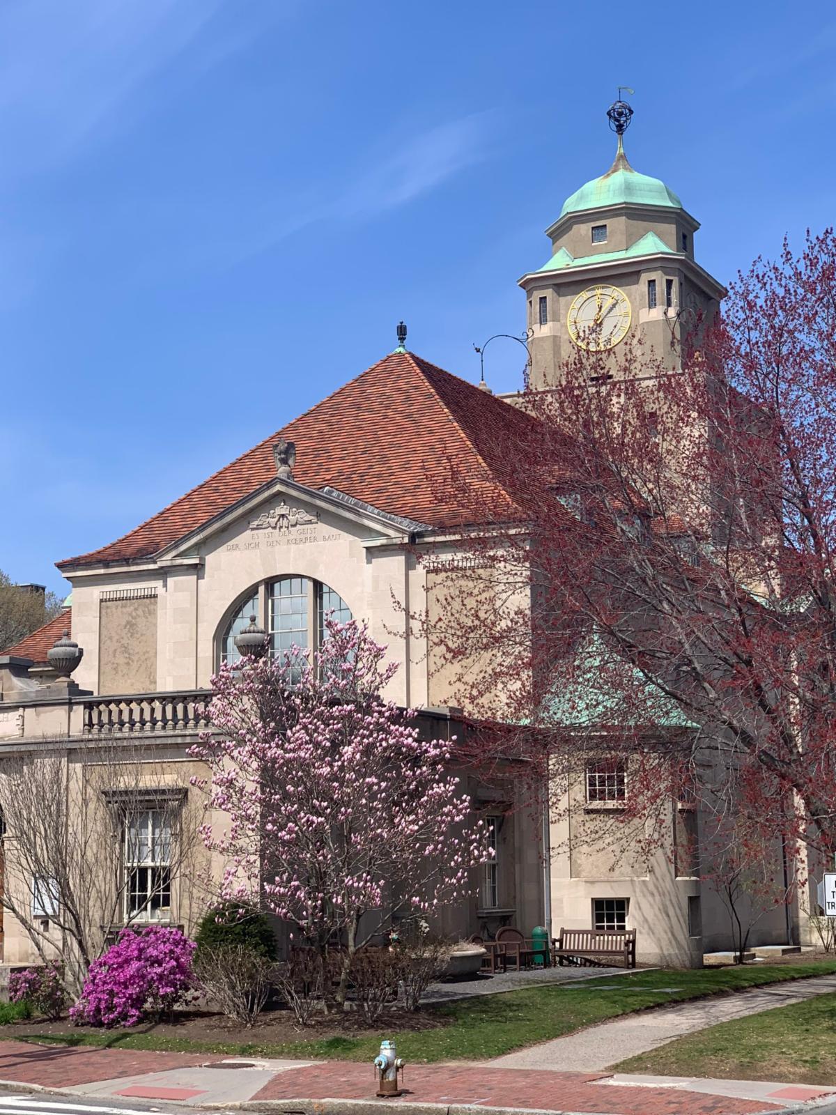 Adolphus Busch Hall on sunny day