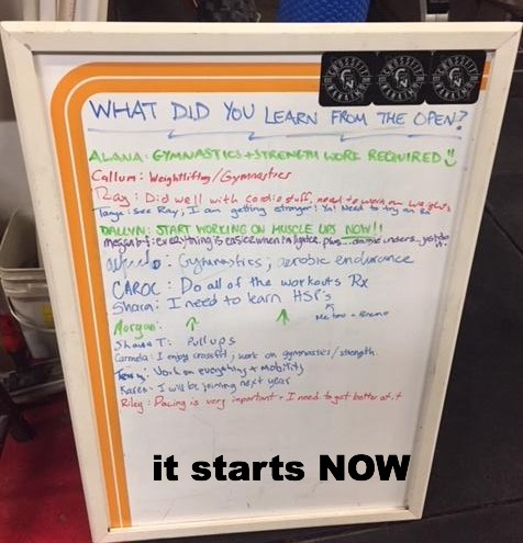 CrossFit Nanaimo Newsletter