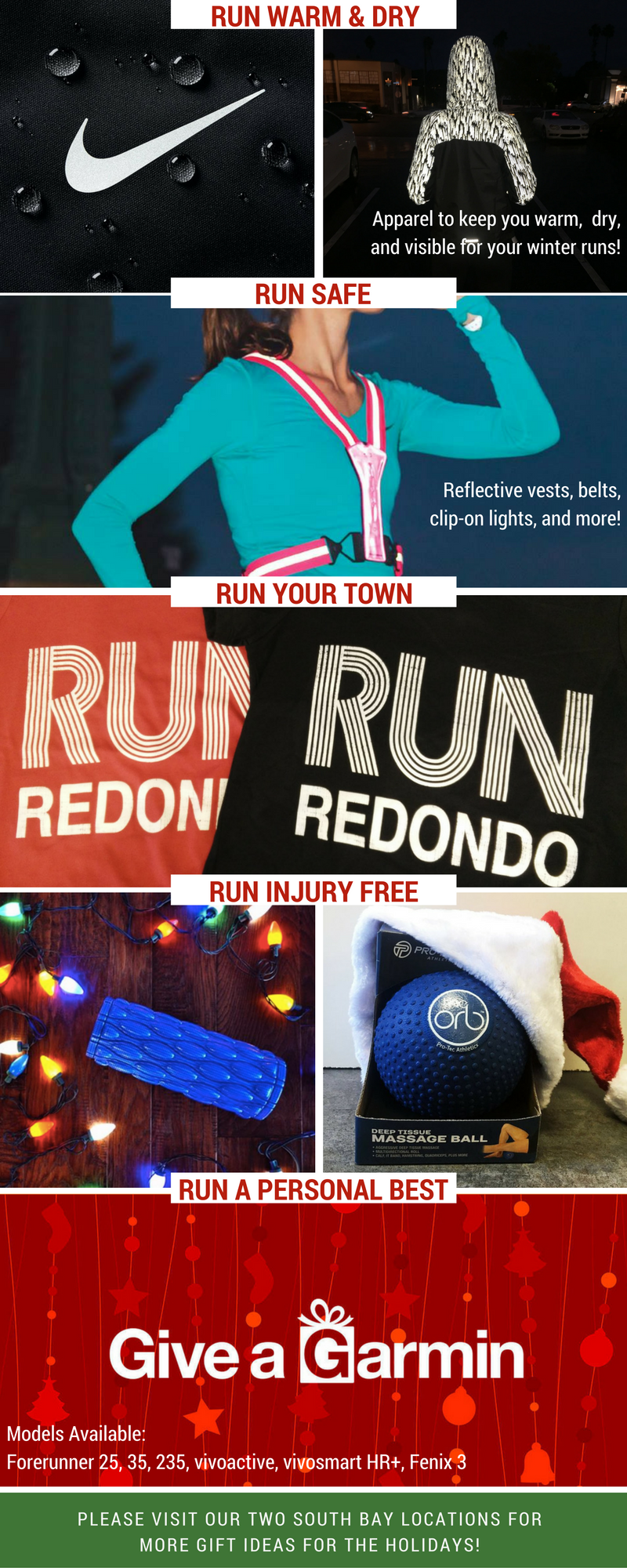 more gift ideas from village runner only 5 shopping days left until christmas