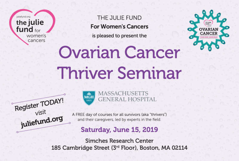 Turning-the-Tide Ovarian Cancer Retreats: 2019