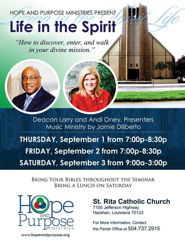 St. Rita Life in the Spirit