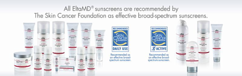 EltaMD Sunscreen Line