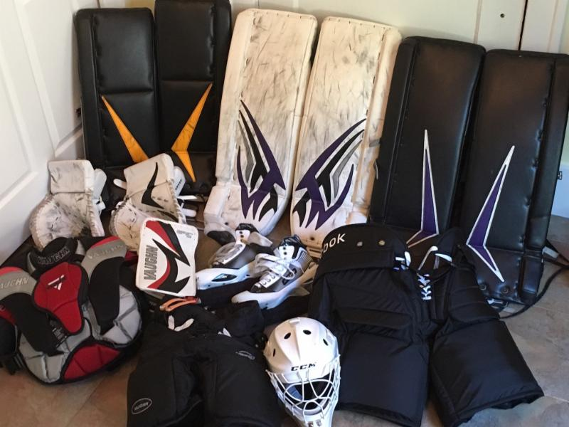 Ray Emery Goalie Equipment For Sale