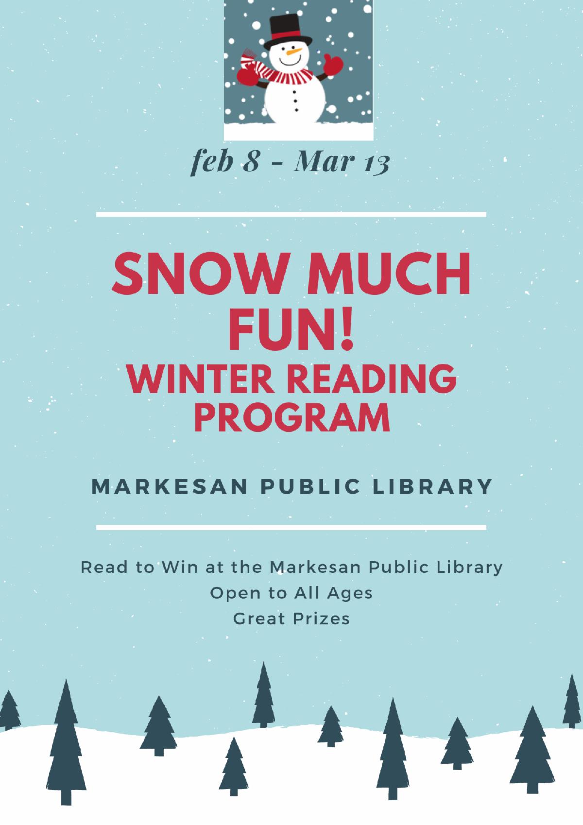 Winter Reading Program 2021