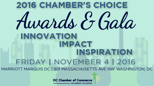 DC Chamber Gala Banner