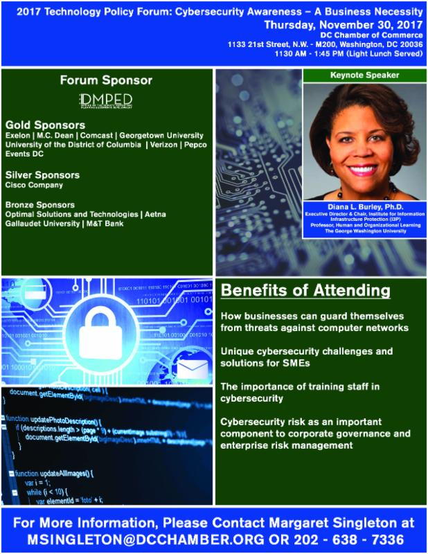 Join us for a panel discussion about the role of cybersecurity in today's online world.