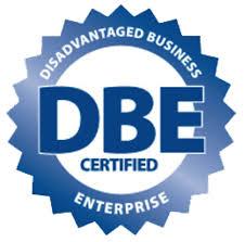 Logo of Certified Disadvantaged Business Enterprise