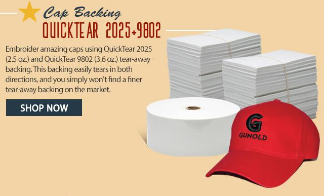 cap backing