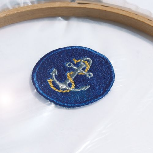 hooped patch with ultra solvy
