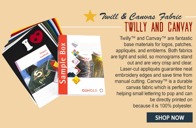 twill and canvas fabric - twilly and canvay