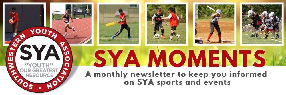 SYA Moments Newsletter August 2021