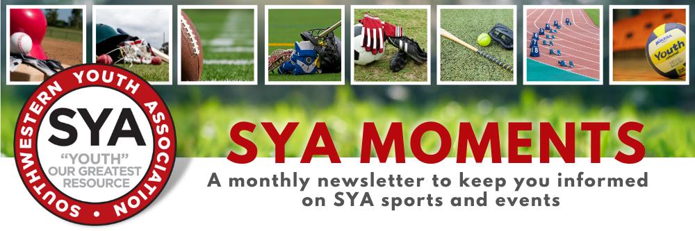 SYA Moments Newsletter