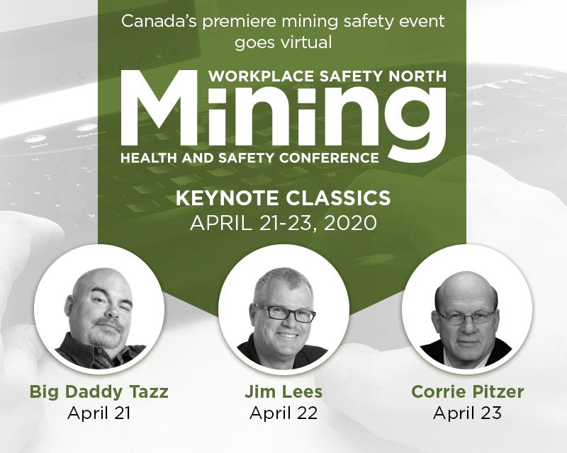 2020 virtual mining conference with 3 speakers