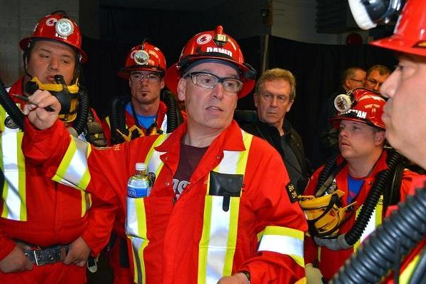 Dave Hay mine rescue volunteer