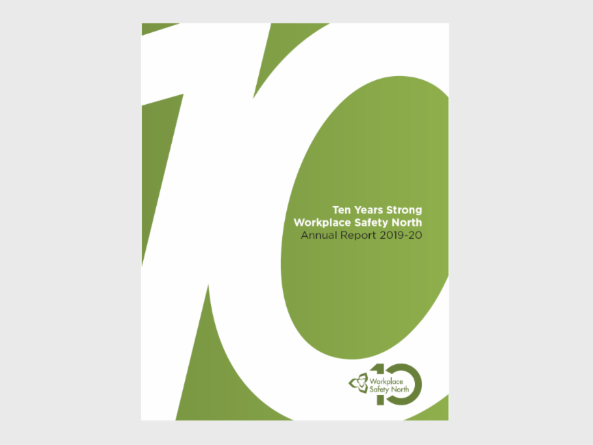 Cover of WSN 2019-2020 Annual Report