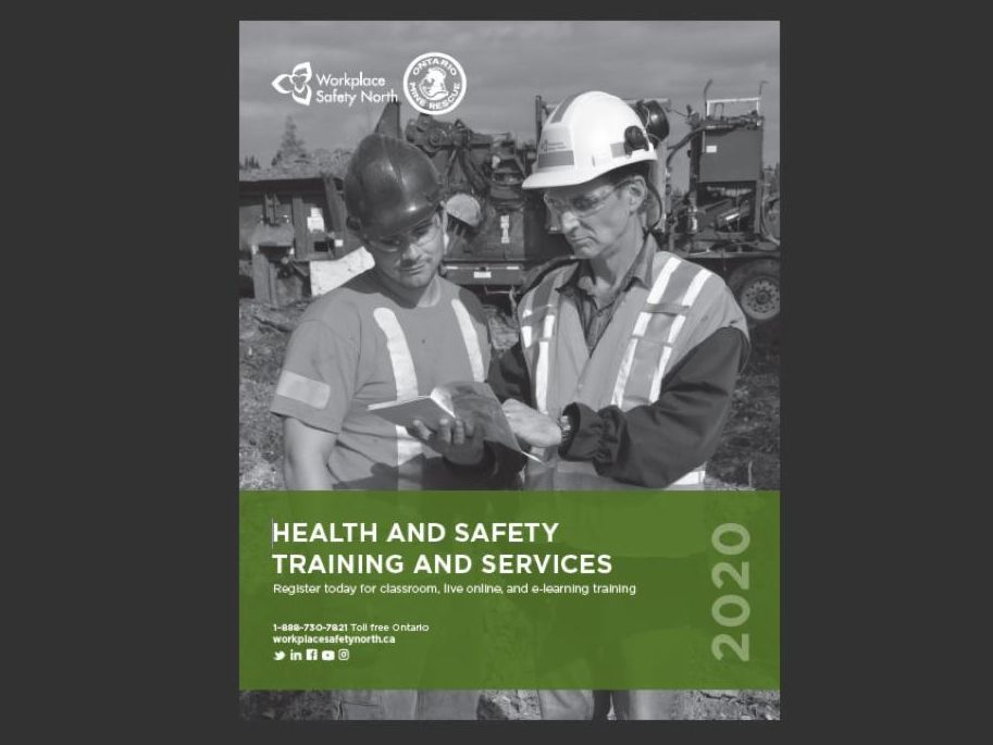 Cover of 2020 WSN training catalogue