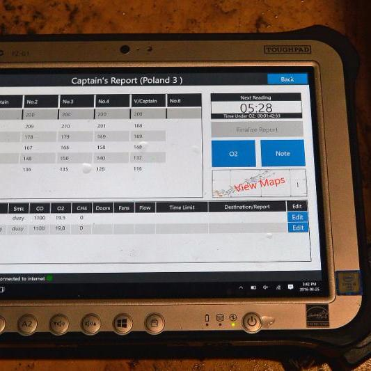 Photo of OMR tablet