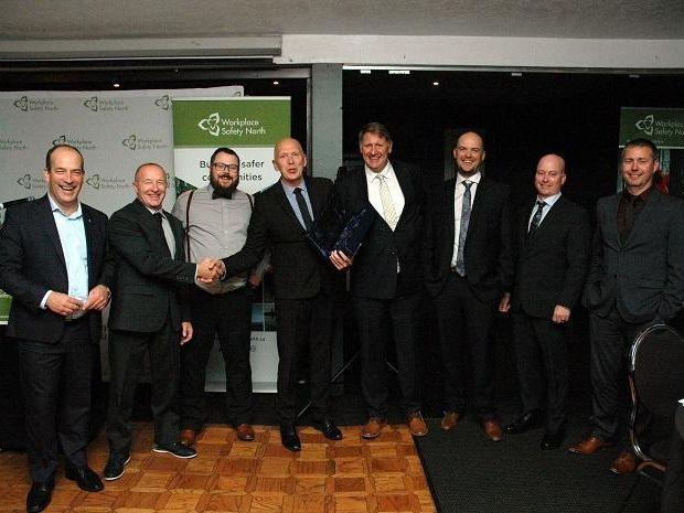 NAP group accepting award
