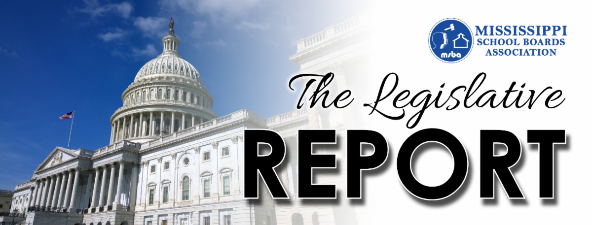The Legislative Report Header