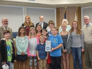 SWPPPers receive CASQA award at EUSD Board Meeting