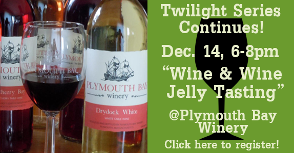 Wine & Wine Jelly Tasting at Plymouth Bay Winery