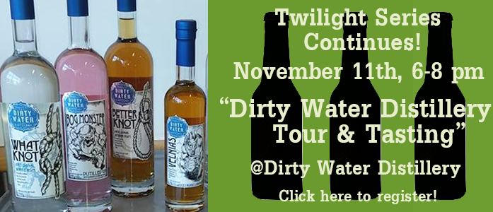 Dirty Water Distillery Tour