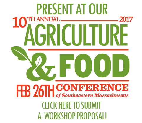 Click here to submit a workshop proposal for the Ag & Food Conference!